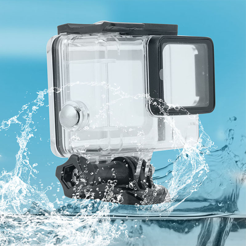 For Gopro hero 5 Sport Cam Diving Underwater 45m Protective Waterproof Shell Case House Cover