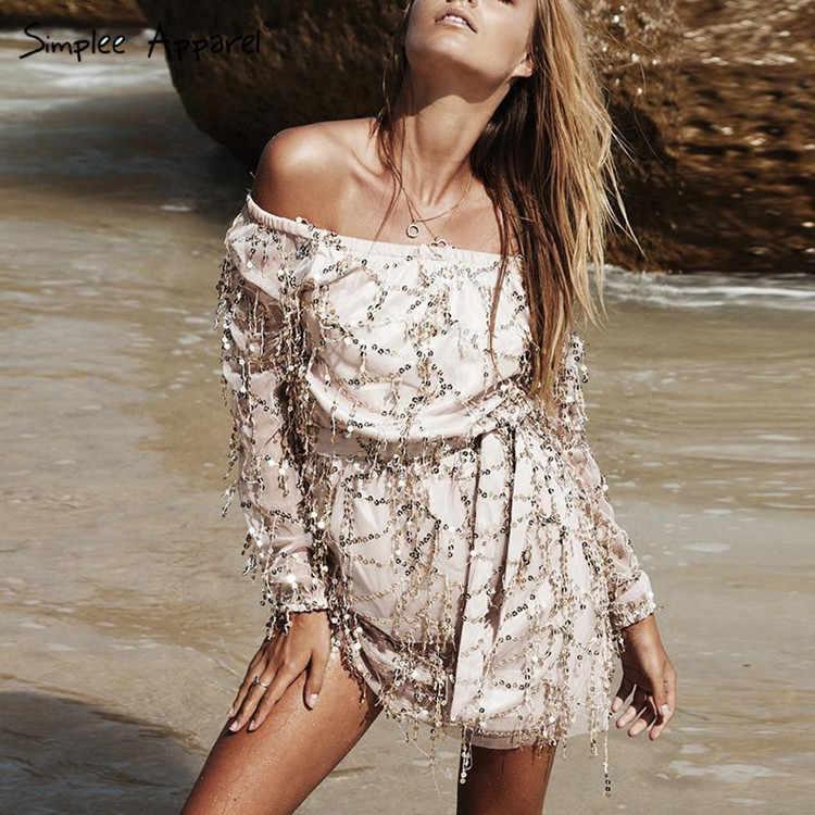Сексуальное летнее платье с блестками и кисточками, 2018, пляжные вечерние короткие платья, женское винтажное платье с открытой спиной, vestidos