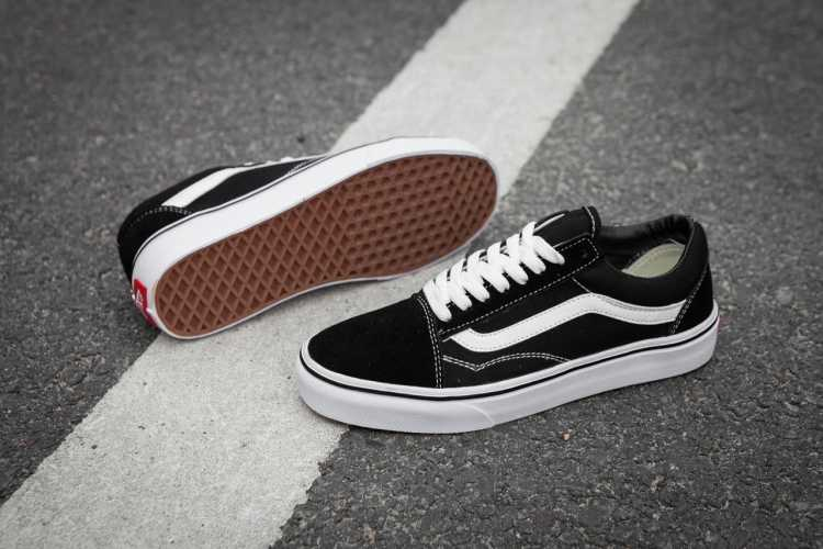 new styles 10282 57327 ... VANS OLD SKOOL Classic Womens Sneakers shoes,canvas shoes,Sports shoes  black Weight lifting ...