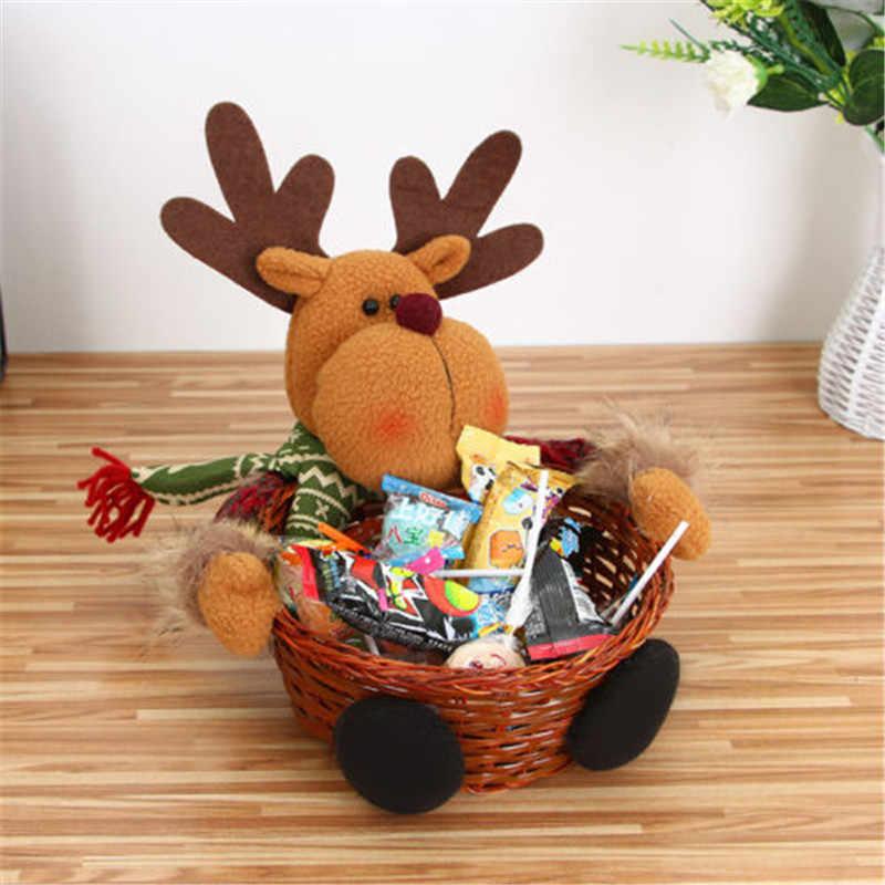 Рождественская елка Декор конфетный мешок украшения Рождественский Декор Санта-Клаус вечерние украшения