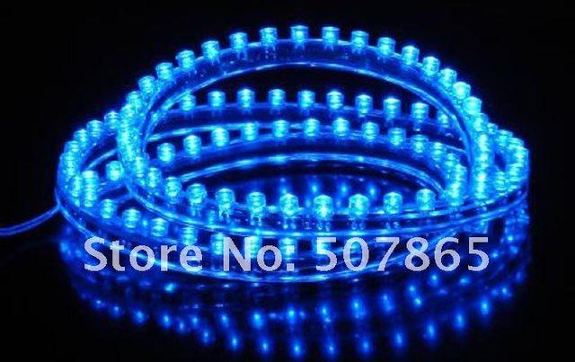 2PCS Daytime Running Light White bule 48cm 48LED Strip Driving DRL Car Fog Parking Signal Light Lamp Styling