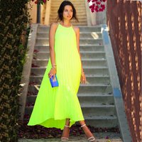 2015 Hot Sale Sexy Women Summer Dresses Chiffon Boho Beach Dress Long Maxi Evening Party Dress