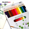 AIHAO 9104 Water Soluble Watercolor Pencils Colored Pencils Students Painting Children Drawing 18 24 36 48