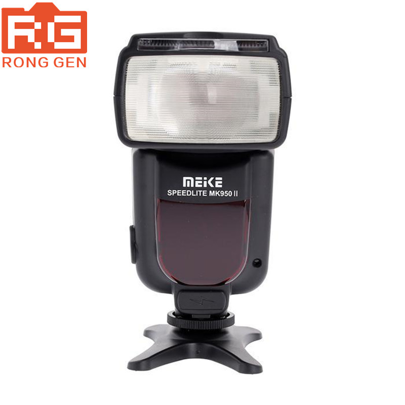 ФОТО Meike MK-950 Mark II TTL Slave Wireless Flashgun Speedlite Flashlight MK950 for Canon