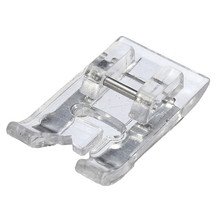 Different Price 1Pcs Satin Stitch Useful Sewing Machines Satin Stitch Presser Foot for Brother Singer Janome Snap-on