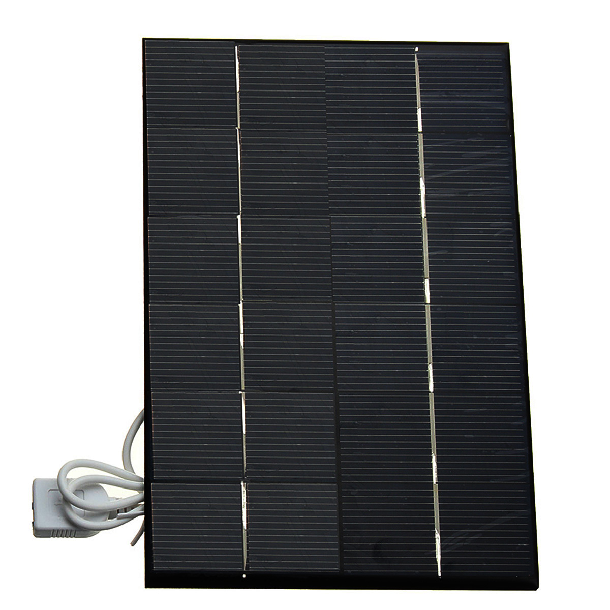 6V 3w 5w Polysilicon Solar Charger DIY Outdoor Solar Power Bank Camping Outdoor Tools Battery Charger For Smart Phone MP3 MP4