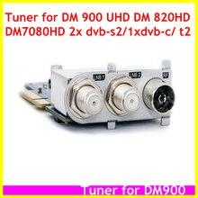 חלום מקלט משולש 2x DVB S2 1x DVB C/T2 חדש הגעה 3 ב 1 טיונר עבור DM900 UHD DM7080 HD DM820 HD