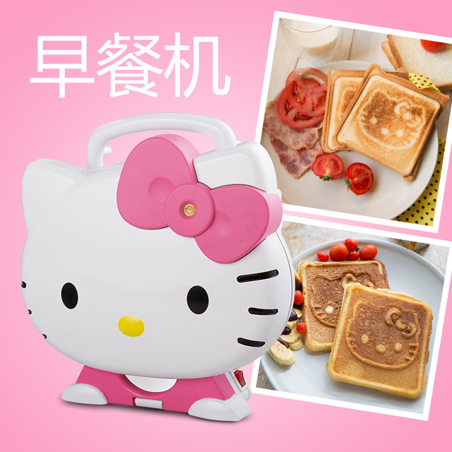 cfad9e3ba3 Hellokitty sandwich maker bread maker Toaster 2 min make a sandwich or  bread breakfast maker cooking tools bakeware