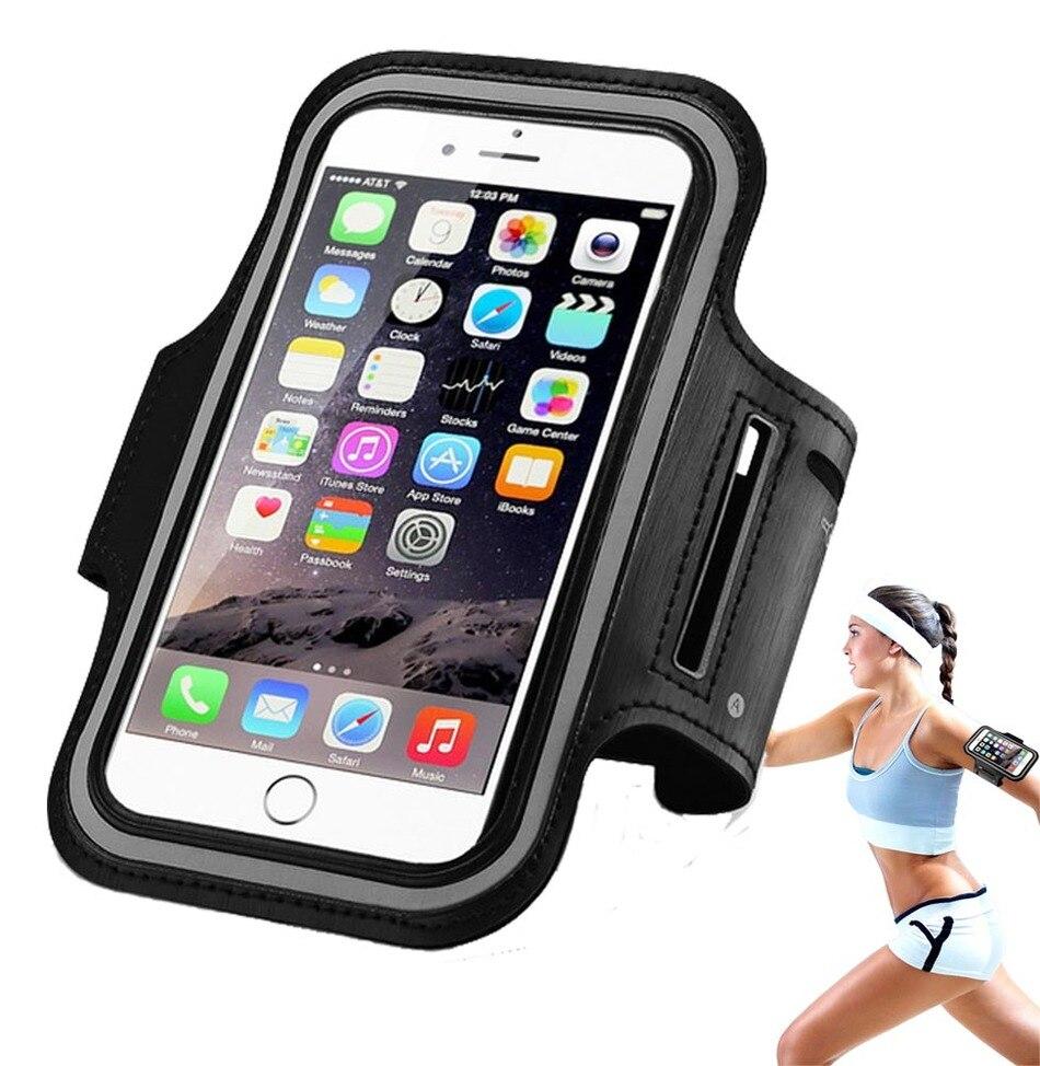 Impermeable sport ajustable gimnasio brazal del teléfono casos para huawei p9 li