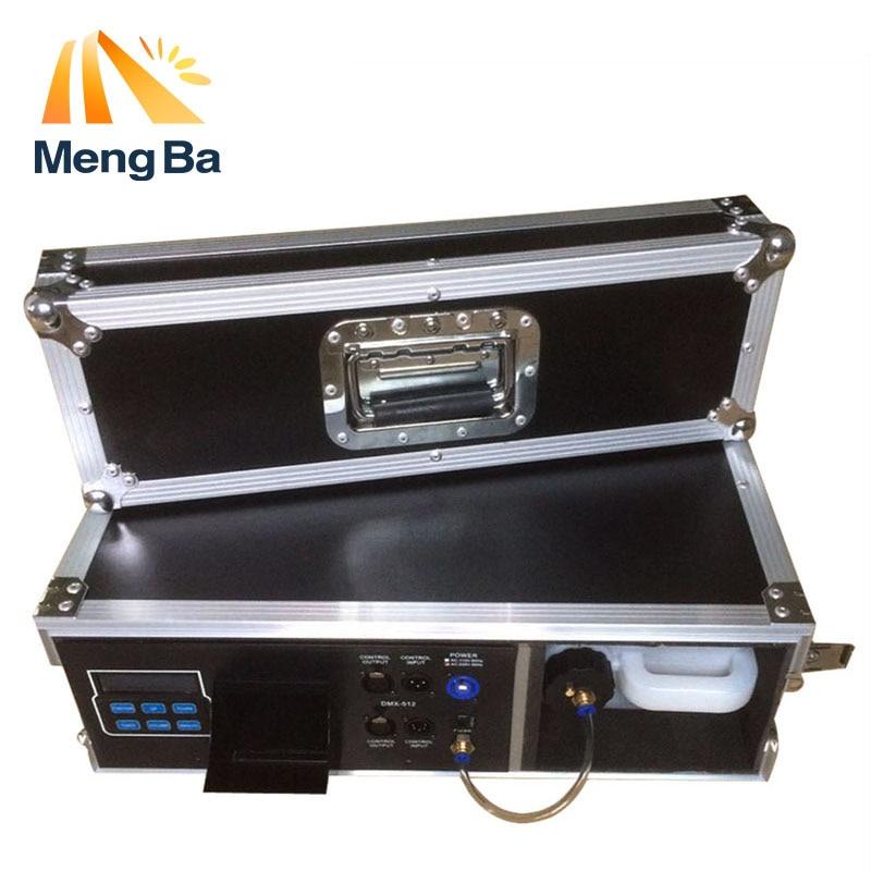 Machine de brume de cas de vol de MengBa 900 W Machine de brouillard 3.5L pour l'équipement d'étape avec le brumisateur de contrôle DMX512 à base d'eau liquide de brouillard