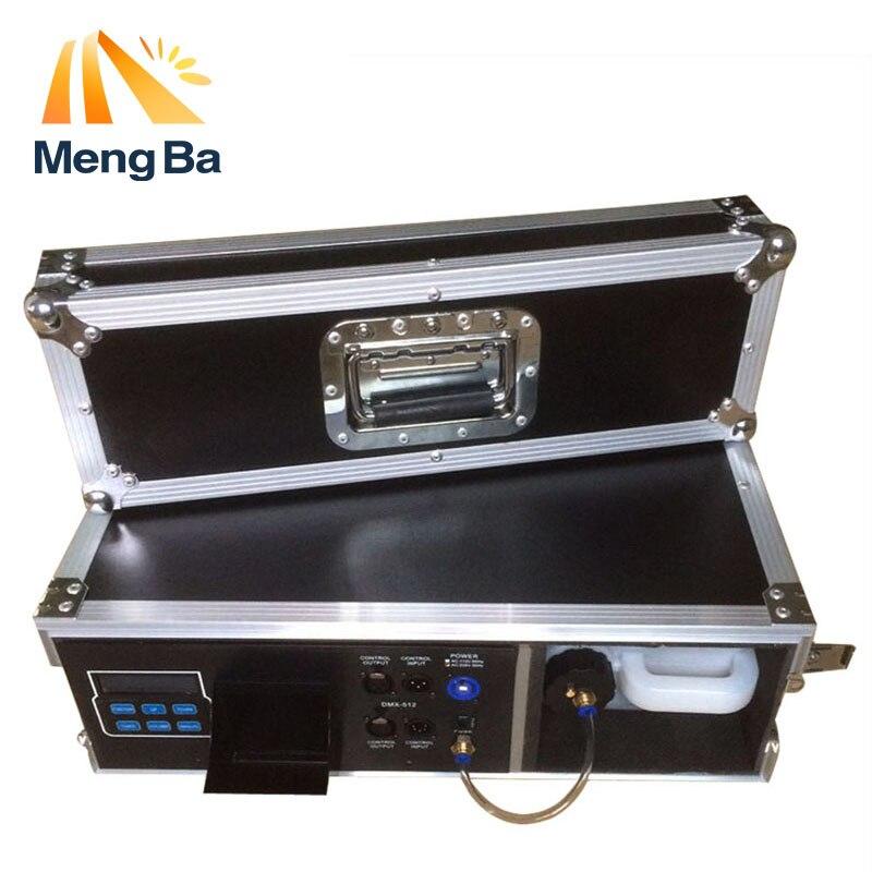 MengBa 900 W Caso Do Vôo Máquina Haze Máquina de Fumaça Para O Estágio 3.5L DMX512 Equipamentos Com Nevoeiro Líquido À Base de Água de Controle fogger