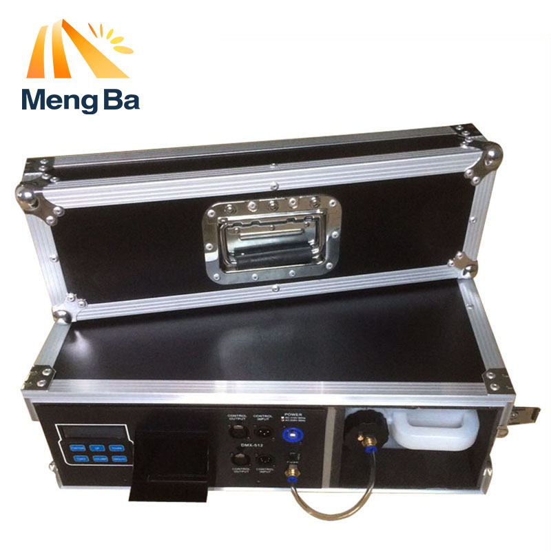 MengBa 900W Flight Case Haze Machine 3.5L Fog Machine For Stage Equipment With Fog Liquid Water Based DMX512 Control FoggerMengBa 900W Flight Case Haze Machine 3.5L Fog Machine For Stage Equipment With Fog Liquid Water Based DMX512 Control Fogger