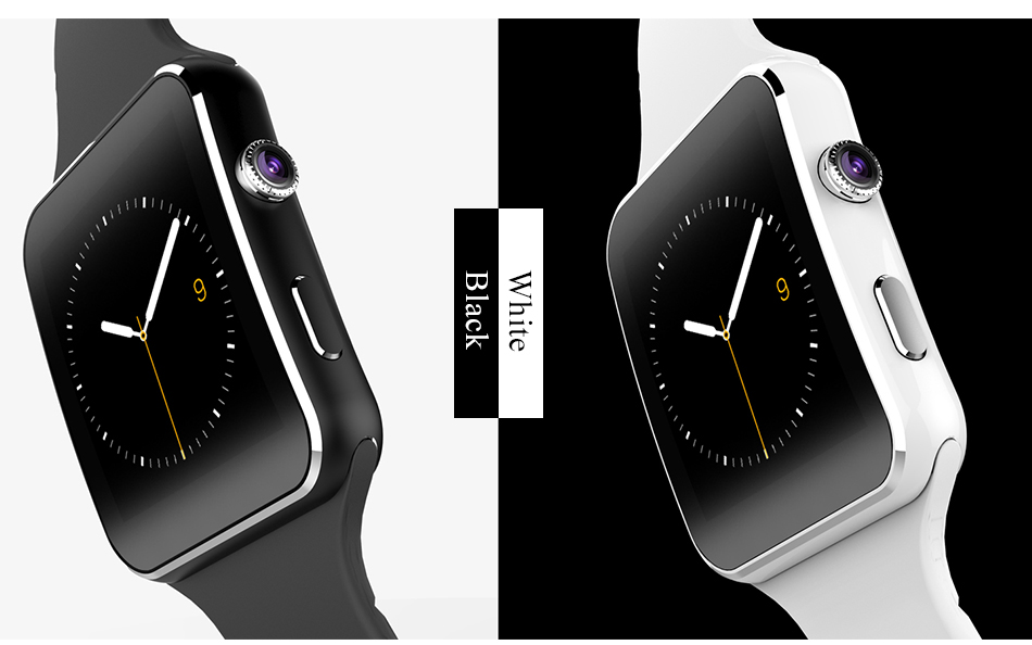 New Arrival X6 Smart Watch with Camera Touch Screen Support SIM TF Card Bluetooth Smartwatch for iPhone Xiaomi Android Phone 19