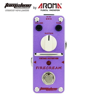 Vintage Distortion Pedal Guitar Effect Firecream Based On The 1st Version EH Big Muff Pedal Rich and Creamy Fuzz Tone