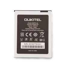 100% Original Oukitel u2 Battery 2050mAh New Replacement accessory accumulators For Cell Phone