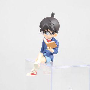 Image 4 - Figuras de acción de Kudou Shinichi, modelo de anime clásico japonés de 7,5 12,5 cm, carcasa de Detective Conan, libro cerrado/teléfono/figura de acción de pie ver