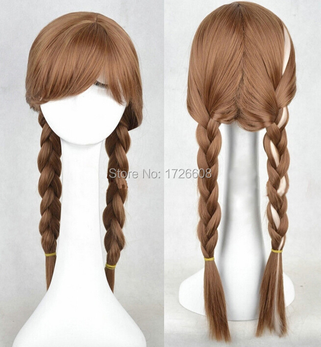 Wig Anna Popular Cartoon Girl Braid Hair FR0ZEN Wigs