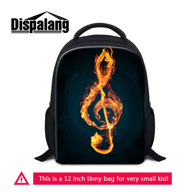 Dispalang Children Small School Bag Music Note Printing Backpacks For  Kindergarten Baby Shoulder Bag Kids Book Bag Mochila ff434781a7a57