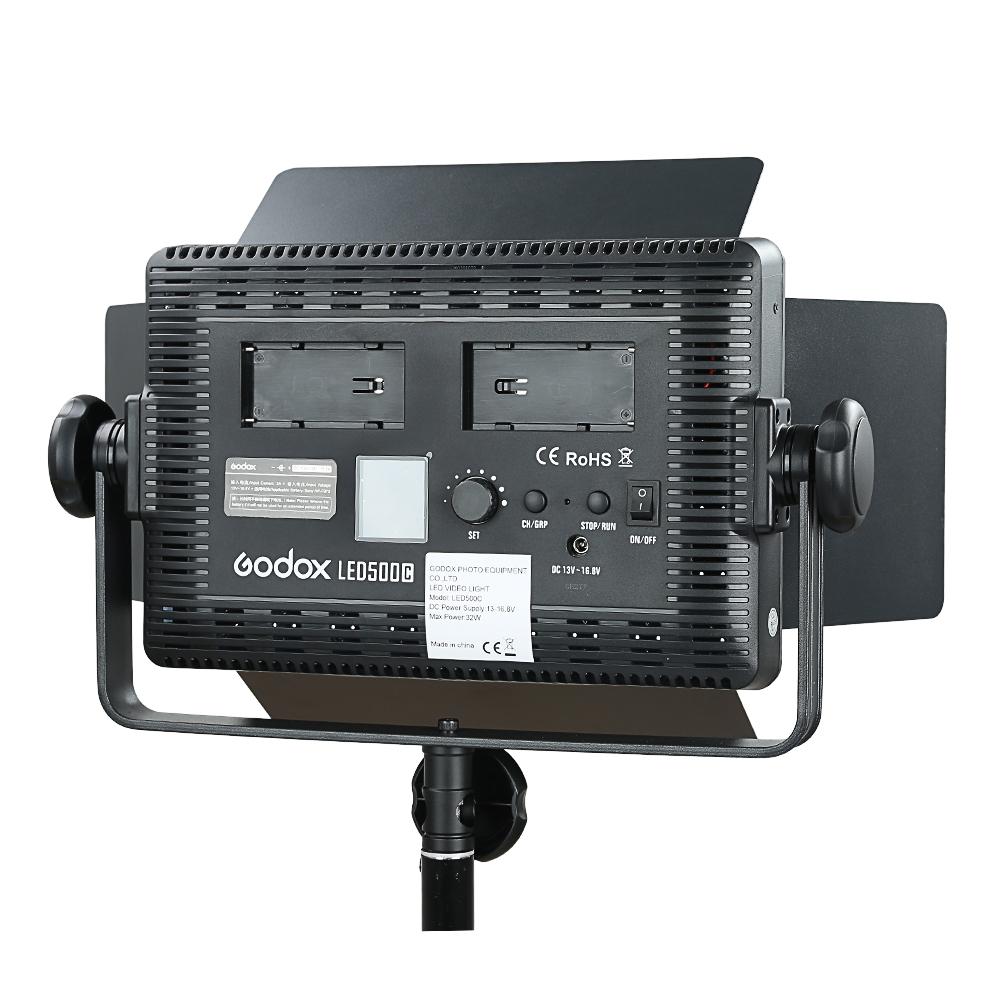 Godox LED500C 3300K~5600K Changeable Version LED Video Light (21)