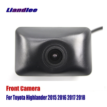 Liandlee AUTO CAM Car Front View Camera For Toyota Highlander 2015 2016 2017 2018 ( Not Reverse Rear Parking )