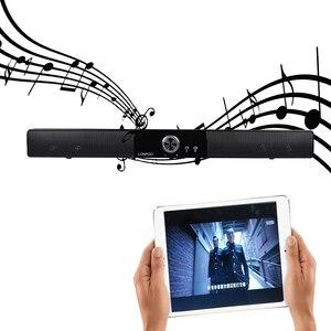 Image 3 - LONPOO новейший Bluetooth динамик Портативный Саундбар звуковая панель HIFI Саундбар динамик для компьютера ПК телефон