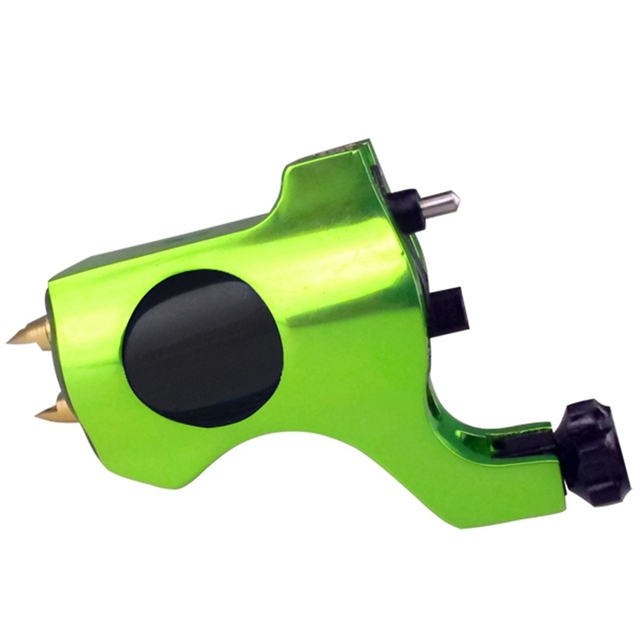 Professional Bishop Tattoo Machine Connection Green Rotary Tattoo Gun For Tattoo Supplie Free Shipping TM-552H