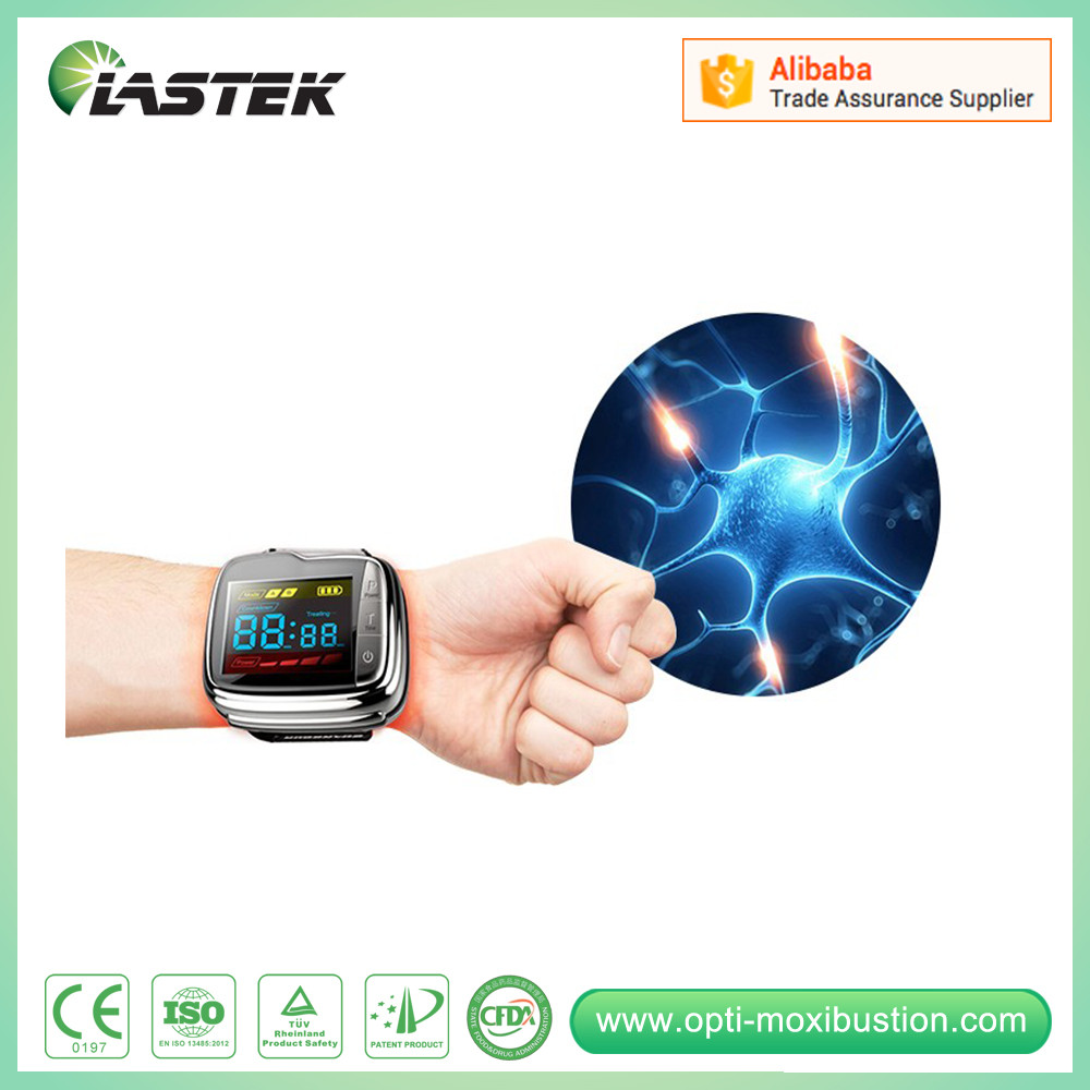 medical equipments lllt cold low level laser phototherapy wrist blood pressure monitor for hypertension ...