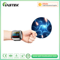 medical equipments lllt cold low level laser phototherapy wrist blood pressure monitor for hypertension