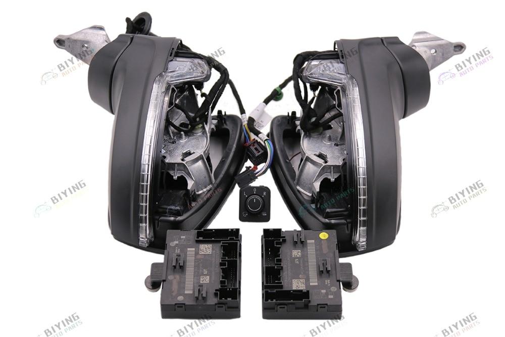 Pour VW LHD MQB Tiguan MK2 pliant électrique pliant Miroir KIT de MISE À NIVEAU