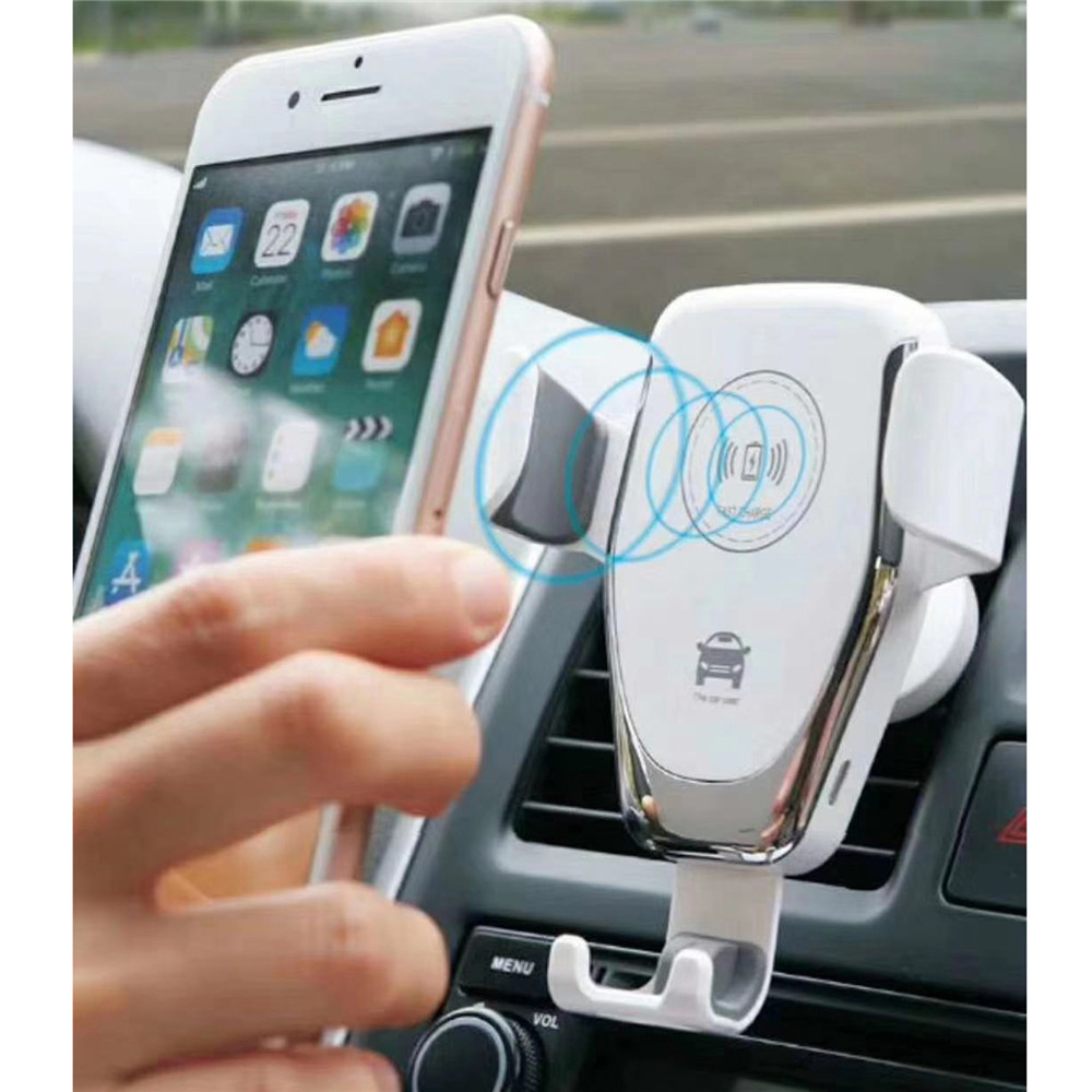 Cell phone car mount wireless charger card reader not working