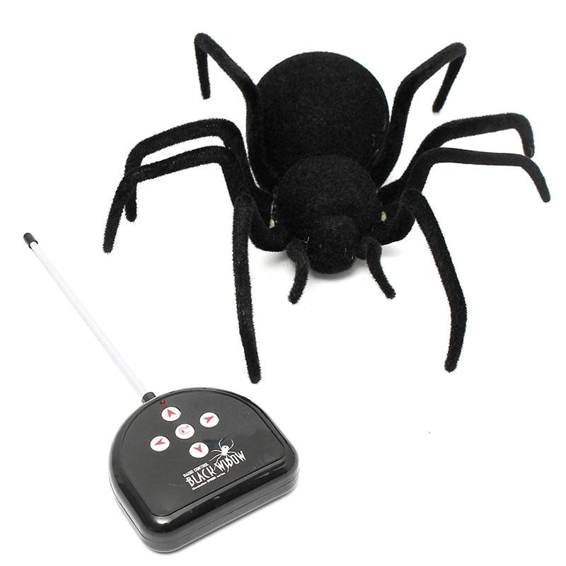 RC Fern Gesteuert Spinne Fernbedienung Spinne Spielzeug Geschenk Halloween Riesigen Spinne Latrodectus Black Widow 30*30*8,5 cm