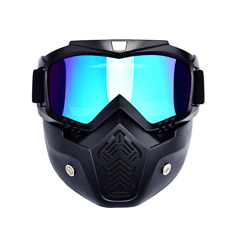 Winter Sports Snow Ski Mask Mountain Downhill Skiing Snowboarding Glasses Ski Googles Masque Ski Gogle Snow Skate(China)