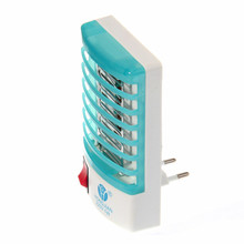 1Pcs European Plug 220V Socket Electric Mini Mosquito Lamp LED Insect Mosquito Repeller killer Fly Bug Insect Night Housefly