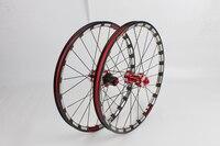 new Original CNC 20 inch 1 3/8 451 406 folding bicycle wheel Perrin BMX cassette disc brake hub bearing Super light 1385g/pair