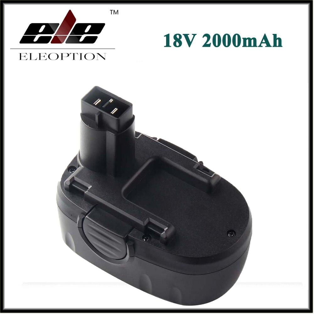 Eleoption 18 В 2000 мАч 2.0Ah Ni-CD Аккумуляторы для <font><b>WORX</b></font> WA3127 WG150s WG152 WG250 WG541 WG900 WG901