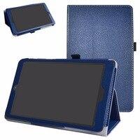מתקפל סטנד עור PU עמיד הלם Tablet קייס לאלקטל A30 TABLET 8