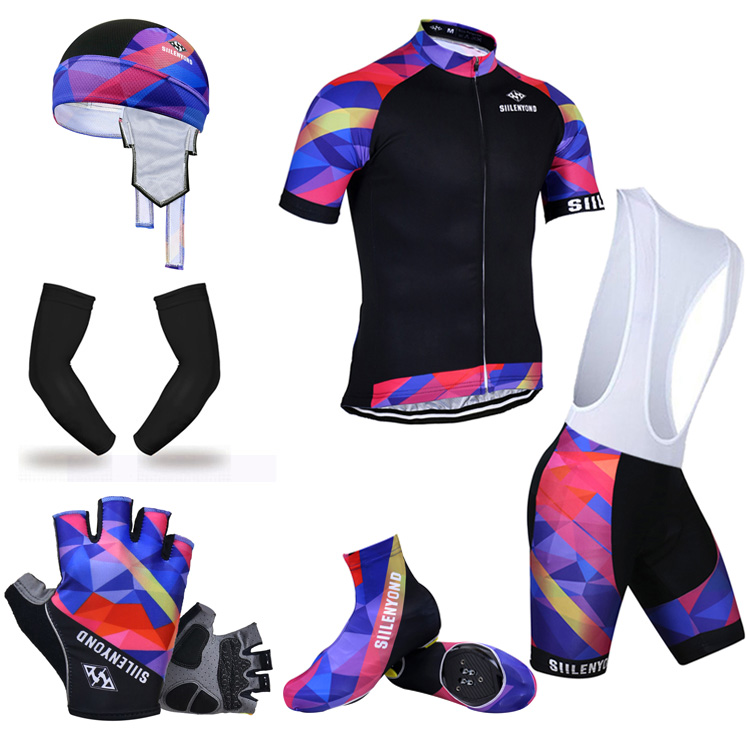 ФОТО Siilenyond Summer Cycling Package! 2017 Victora #26 Style Cycling set Ropa Ciclismo Mans Bike Clothing Cycling Jersey set