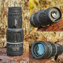 40×60 Powerful HD Binoculars Night Vision High Quality Zoom Monocular waterproof Telescope Camping Mountain Outdoor Hunting A