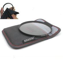 RISE (UK) NIEUWE 105MM UV FILTER Lens Protector 105 mm met Case tas + Doek