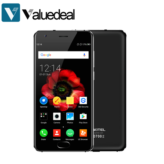 "Original Oukitel K4000 Plus Android 6.0 Mobile Phone MT6737 Quad Core 1.3GHz 2G RAM 16G ROM 5.0"" 4100mAh Fingerprint Smartphone"