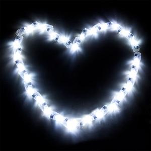 Image 4 - 100 adet/grup LED balon Lamba LED ışık Mavi Kırmızı Beyaz Doğum Günü düğün balonları bar Parti Dekorasyon Anahtarı ışık Parlayan Balon