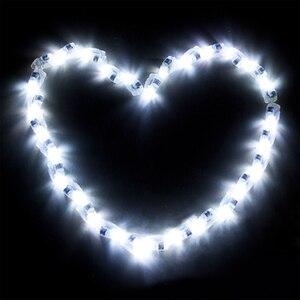 Image 4 - 100 pçs/lote led balão lâmpada led luz azul vermelho branco aniversário casamento ballons bar decoração interruptor de luz balão incandescente