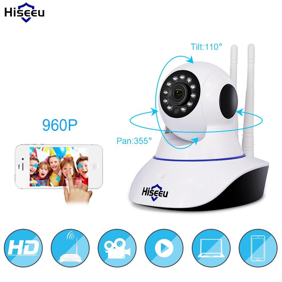 960 P cámara IP inalámbrica WiFi cámara de visión nocturna cámara de red IP con la acción de alarma CCTV wi-fi P2P 1.3MP ONVIF voz clara FH1B