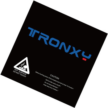 Freies verschiffen tronxy schwarz masking tape 3d drucker heatbed aufkleber brutstätte band 210*200mm 330*330mm