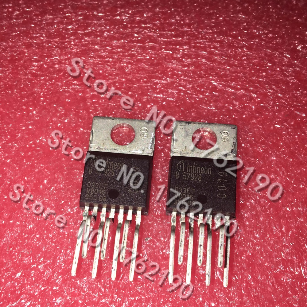 5PCS/LOT  TLE4202  TLE4202B   TO220-7  Silk Screen B 57928
