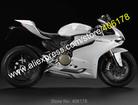 Hot Sales,For Ducati Panigale 1199 1199S 899 2012 2016 1199/1199S/899 All White Bodywork Motorcycle Fairings (Injection molding)