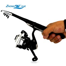 1.0M 1.2M Stream Rod Portable Foldable Travel Spinning Fishing Rod Carbon with 200Series Sea Fishing Reel Rod Combo Fishing Set
