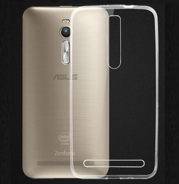 For ASUS Zenfone 2 case 5.5 slim thin cover anti-scratch non-fading soft tpu clear case For Asus Zenfone 2 ZE550ML ZE551ML case