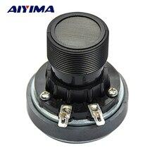 مكبر صوت محمول من AIYIMA عمود Altavoz مكبر صوت محمول بغلاف من التيتانيوم 25 كور 8 أوم 40 وات سماعات مسرح منزلي ذاتي الصنع