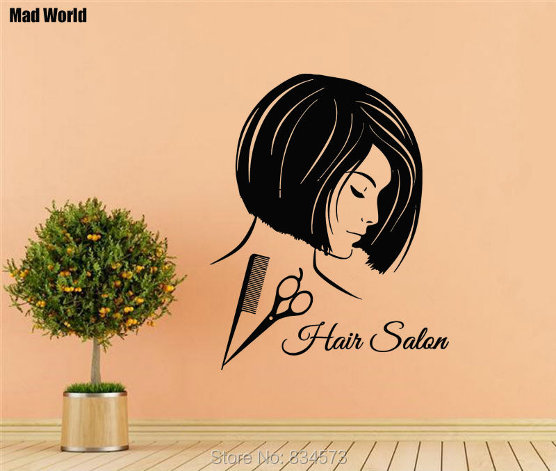 Perfect Salon Wall Decorating Ideas Collection - Wall Art ...